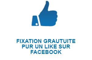 FIXATION GRATUITE POUR UN LIKE SUR FACEBOOK